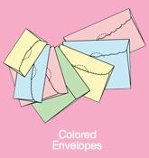 ซองจดหมาย / Colored Envelopes