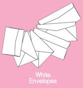 ซองจดหมาย / White Envelopes